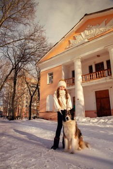 Юлиана и Лора / модели Юлиана Смирнова и Лора причёска Галина Князева