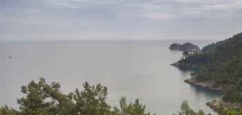 Неясная линия горизонта... / Морской пейзаж греческих островов