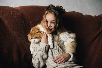 Улыбка Линуси / модель Ангелина Табакова причёска Галина Князева