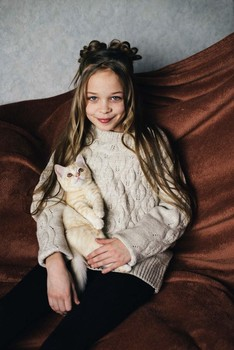 Милота / модель Ангелина Табакова причёска Галина Князева