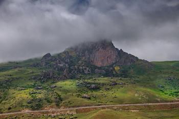 Туманные верщины / Сиязан.Азербайджан