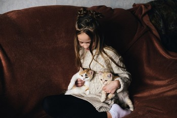Сама нежность / модель Ангелина Табакова причёска Галина Князева