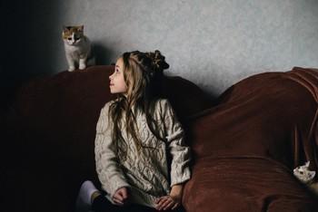 Ребятки / модель Ангелина Табакова причёска Галина Князева