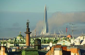 Над городом... / Санкт-Петербург