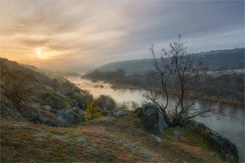 Утро над рекой / ***