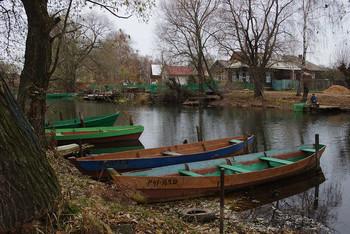 Рыбная слобода на реке Трубеж... / Путешествие в Переславль-Залесский...