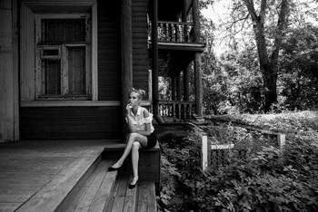 Дом на Благовещенской / модель Даша Басина причёска Галина Князева