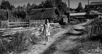 Между огородами / модель Даша Басина