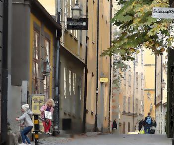 Городские нгры / На улочках Стокгольма