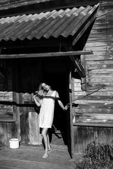 Выходя из дома / модель Даша Басина