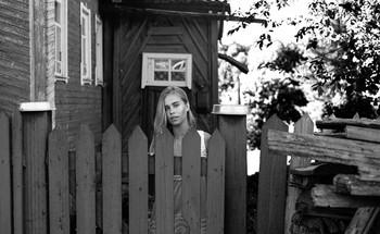В конце июля / модель Даша Басина