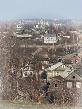 Пасмурный апрель в Переславле... / ***