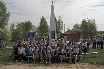 Почтили память односельчан фронтовиков. / 9 мая