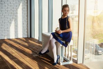 На гребне дня / модель Юлиана Смирнова причёска Галина Князева
