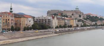 Слегка акварельный Будапешт / Набережная Дуная