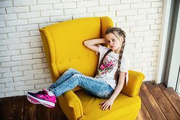 Прекрасная девочка / модель Юлиана Смирнова причёска Галина Князева