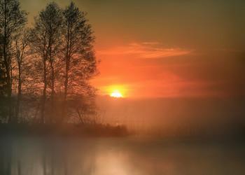 майский рассвет.. / озеро Шлино