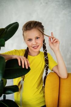 Косы / модель Юлиана Смирнова причёска Галина Князева