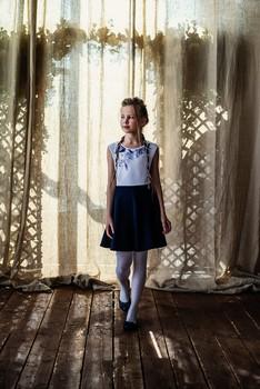 Юляша / модель Юлиана Смирнова причёска Галина Князева