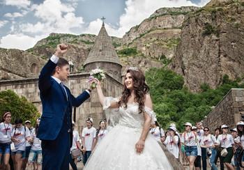 Венчание в Гегарде /