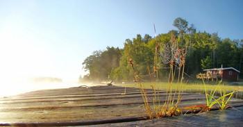 Утренняя тишина / озеро Качакома (Cachacoma), Онтарио