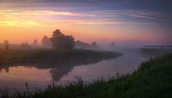 Рассветный туман / Летнее утро
