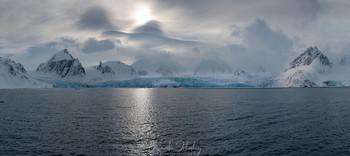 На подходе к леднику / Арктика