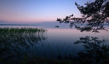 "Успеть до заката / Беларусь. Озеро ""Нарочь""."