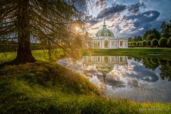 Грот в Кусково / Грот в парке Кусково. Москва. Grotto in the park Kuskovo. Moscow.