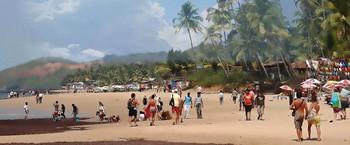 Пляжный проспект / Индийский океан - пляж