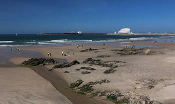 На берегу Атлантического океана / Вблизи Порту. Португалия.