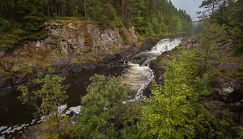 Карельские мотивы / Водопад Кивач
