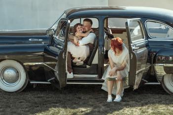 Папа женится / свадебная фотосессия