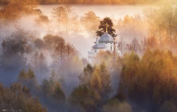 Осенние туманы на Истре. / Истра.
