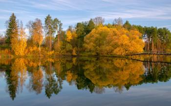 Осень в Окунево / Окунево, Кировская область.