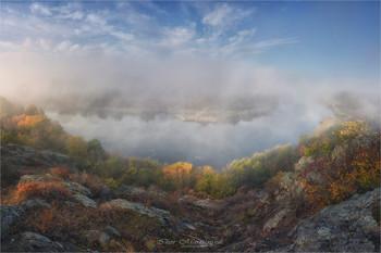 На изгибе реки / Река Южный Буг (Украина)