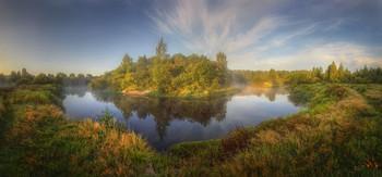 На излучине реки.. / Нижегородская область, река Керженец