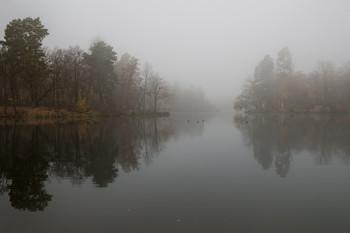 Немного о грусти. / Утро.Осень,уходящая в туман.