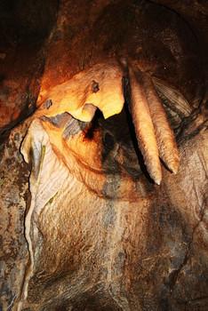 Улыбка бабы Ешки:) / Моравские пещеры Чехия 2009г