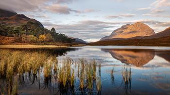 Лох Клэр и гора Лиатх / Национальный парк Бейнн Эйге, Шотландия