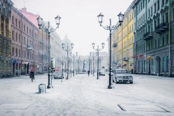 Снежный город. / С НОВЫМ ГОДОМ,ДРУЗЬЯ!!!