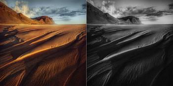 B&W or Color ? / Исландия. Структуры...