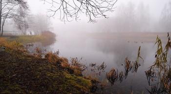 На Свислочи / Туман на реке