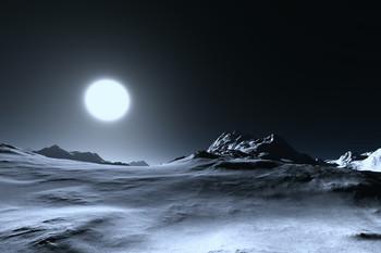 На далекой планете... / холодной