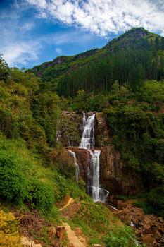 Водопад / Нувара-Элия, Шри-Ланка