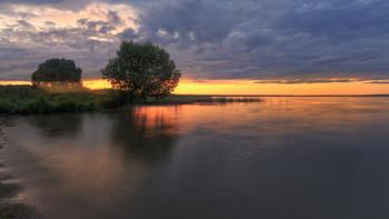 Летней ночью / Плещеево озеро, лето, ночь