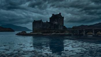 Замок с привидениями / Замок Эйлин Донан, Шотландия
