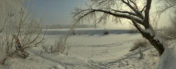Февральские прогулки вдоль речки при -20°С... / Зима2012г...