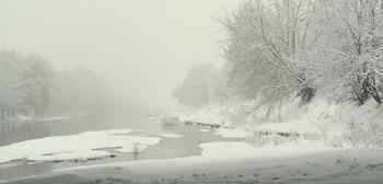 Про то,как фотограф, от снегопада, под мостом прятался... / Зима!!!