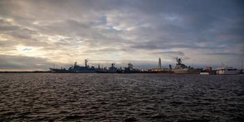 Кронштадт / Кронштадт, Петровская гавань, Усть-рогатка